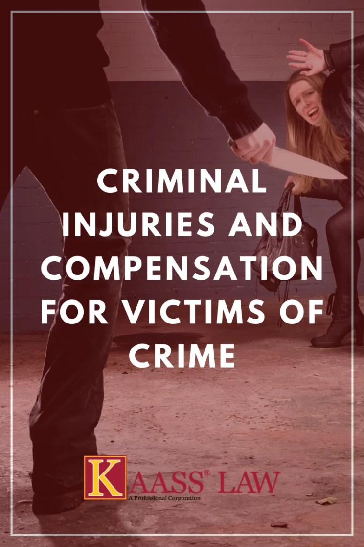 Criminal Injuries and Compensation for Victims of Crime