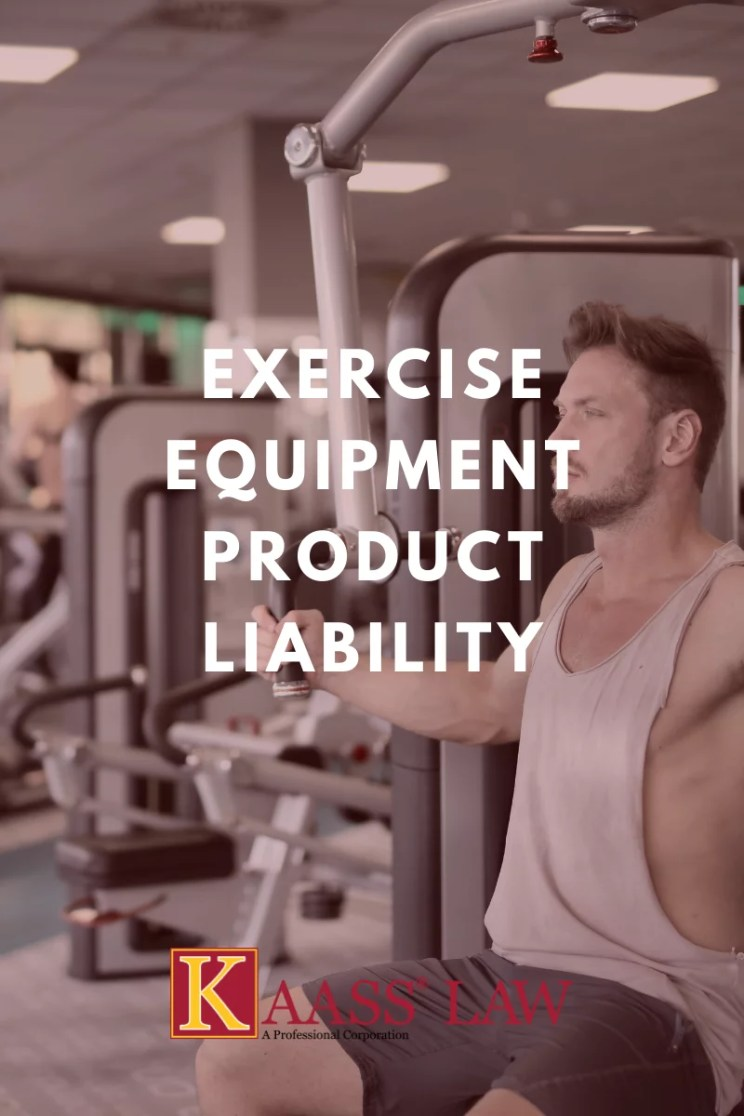 Exercise Equipment Product Liability