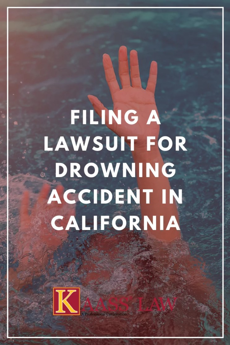 Filing a Lawsuit for Drowning Accident in California