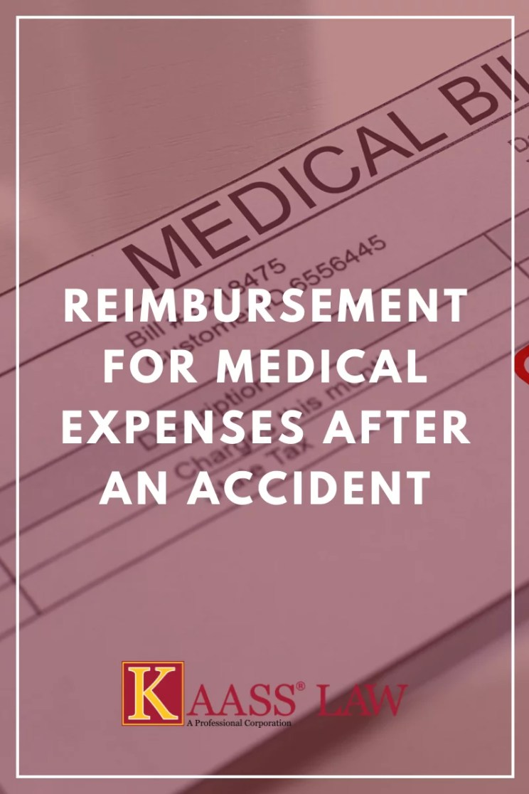 Reimbursement for Medical Expenses After an Accident