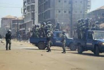 Sécurité-Boké:Cinq (05) agents de l'Escadron Mobile N°11 délogés  au quartier Lambanyi