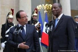 Hollande quitte l'Elysée: les regrets et amalgames d'Alpha Condé