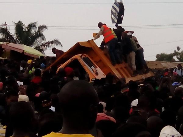 Dubréka : Une dizaine de familles endeuillées après un accident