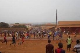 Kagbélèn : Un risque de manifestation plane contre l'usine »Diamond Cément»