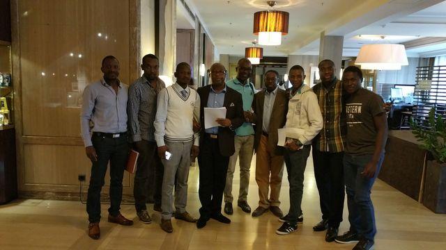 Le Bureau Exécutif du Conseil des Patriotes Guinéens (CPG) installé à Bruxelles ce dimanche 4 septembre 2016