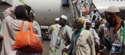 Hadj 2017 : Le premier convoi des pèlerins quitte Conakry mercredi soir