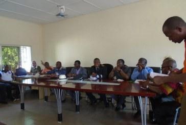 Economie-Boké: séjour d'une mission mixte Mines, TP, du Plan dans la préfecture