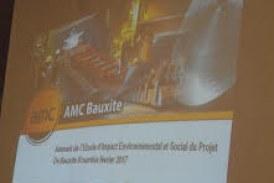 Economie-Boké: l'AMC présente les résultats de l'étude d'impact environnemental et social aux communautés