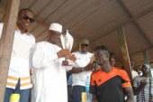 Sports foot-Boké : Le MATD préside la finale du tournoi portant le nom du préfet