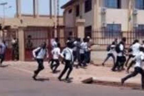 Mamou: Reprise des manifestations des étudiants, la ville assiégée par les forces de l'ordre