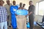 Economie-Boké: 100 sacs de gite et 20 bâches pour encourager les producteurs de Cajou dans la préfecture