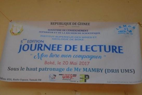 Boké: la 5ème édition du concours de lecture compétitive lancée dans la préfecture