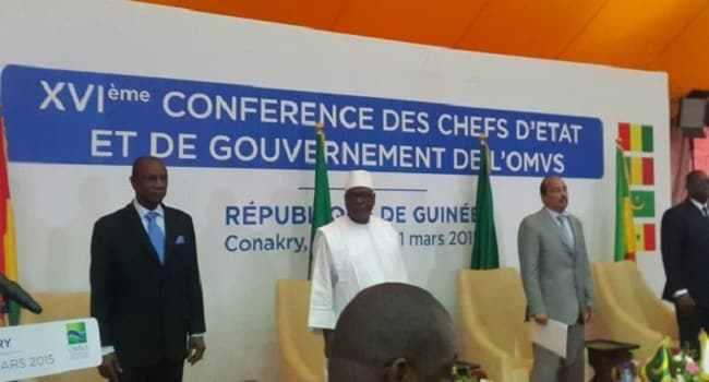 OMVS: Trois Chefs d'Etat de la sous-région attendus mardi à Conakry