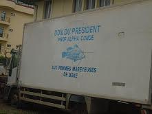 Boké: Le Camion frigorifique des femmes mareyeuses sur le point de céder