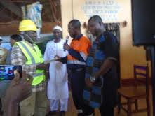 Economie-Boké: La CBG offre 350 millions GNF à deux Toutes petites entreprises (TPE) de la CR Kamsar