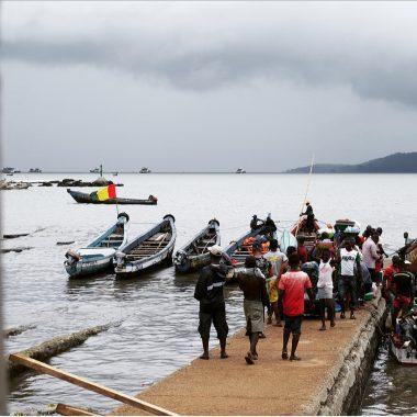 Boké: Bientôt deux (02) barques motorisées pour les communautés de Sèkhèyiré et de Katounou