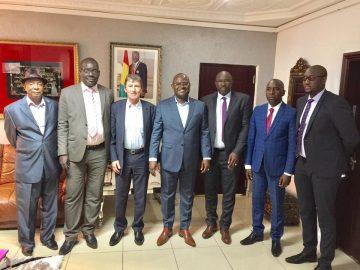 Guinée: Le secrétaire général de l'union de la presse francophone reçu par Kerfalla Camara KPC