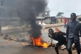 Boké: 02 morts, 78 blessés, bilan actuel des manifestations dans la préfecture