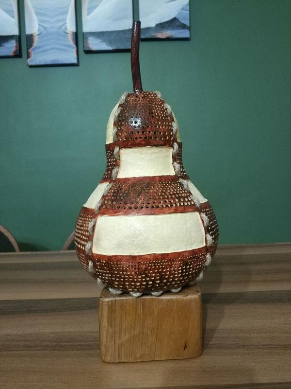 tasarım su kabağı lamba