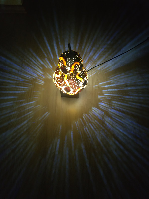 ışıklı dekoratif led gece lamba