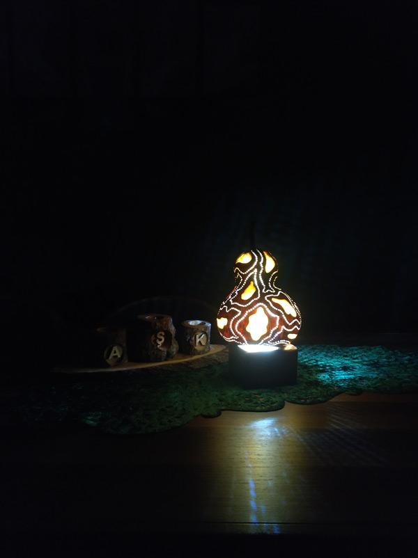 ışıklı tasarım dekoratif ledli gece lambası