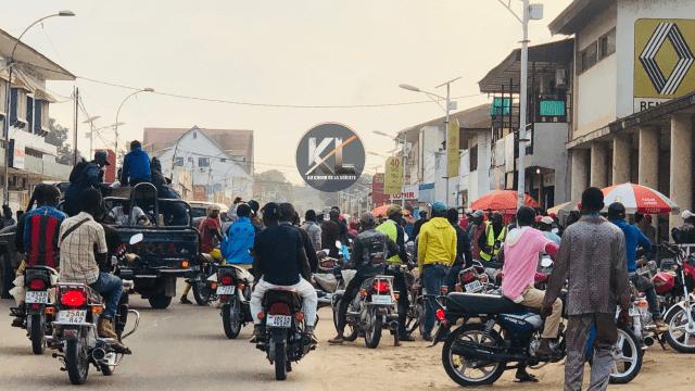 Kisangani : à la veille de la fin de la courtoisie routière, les motards haussent le ton