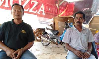 Foto buffer zone kabil, Pedagang di kabil, pemilik usaha di kabil, pemilik usaha diintimidasi
