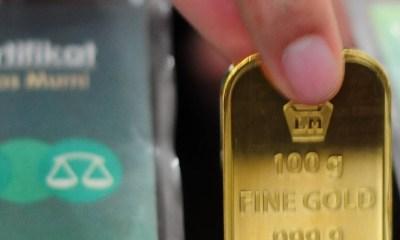 Foto emas antam, Emas Batangan, Harga Emas, Harga Emas Hari Ini