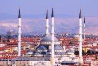 Presiden Jokowi Kunjungi Masjid Kocatepe yang Terbesar di Ankara