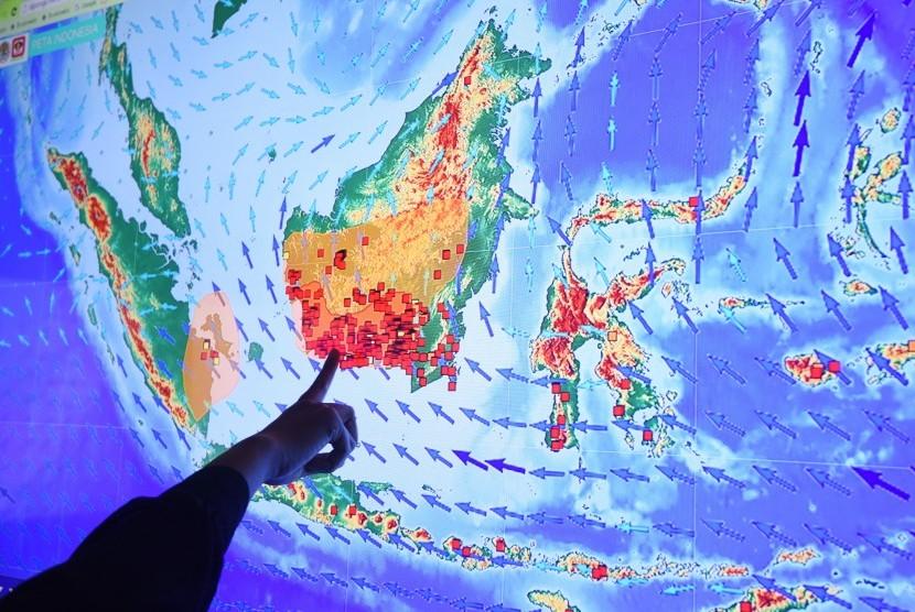 BNPB: 6 Provinsi Siaga Darurat Titik Panas
