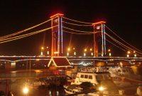 Jembatan Ampera Ditutup Saat Malam Tahun Baru