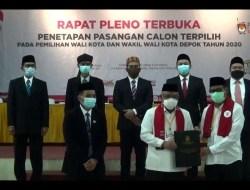 Walkot dan Wawalkot Dilantik Terpisah, Idris di Bandung dan Imam di RS karena Positif Covid-19