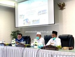 Bupati dan Wakil Bupati Pasbar Gelar Rakor Perdana Dengan Pimpinan OPD