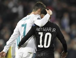 Neymar Kirim Rayuan Agar Ronaldo Gabung PSG