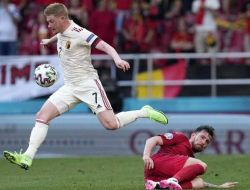 Euro 2020: Belgia Berhasil Lolos ke 16 Besar