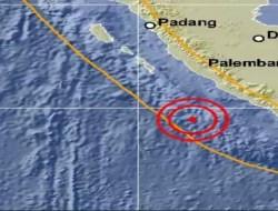 Bengkulu diguncang Gempa Magnitudo 5,2