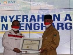 Pemprov Sumatera Barat Terima Penghargaan atas Perlindungan Pekerja Migran dari BP2MI