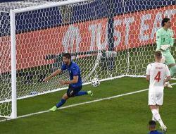 EURO 2020 : Italia Melaju ke 16 Besar