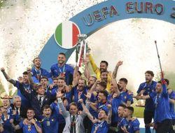 Usai Juara, Italia Bersikap Buruk di Ruang Ganti Wembley