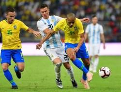 6 Menit Berjalan, Laga Brasil vs Argentina Dihentikan