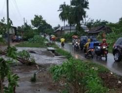 16 Rumah Warga Lampung Timur Rusak Akibat Puting Beliung