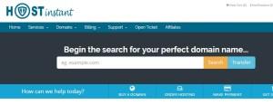 host instant webiste