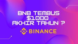 BINANCE COIN TEMBUS $1000
