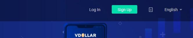 cara daftar di VDollar Exchange