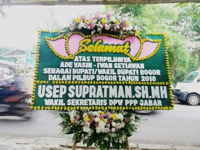 20+ Ide Desain Karangan Bunga Ucapan Selamat Bupati Bogor ...