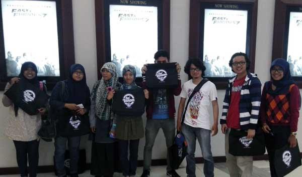 "Venom Medan Gelar Nonton Bareng Film ""Fast & Furious 7"""