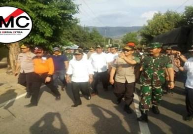 Kabar Foto, Panglima TNI dan Kapolri Mendarat di KTC KSB Sore Tadi