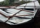 Angin Puting Beliung Rusak 4 Rumah Warga Ai Kangkung