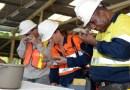 Mahasiswa Program Doktoral Universitas Tasmania, Australia  Kunjungi Tambang Amman Mineral