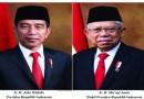 Inilah Foto Resmi Presiden dan Wapres RI yang Baru, Diluncurkan Sekneg